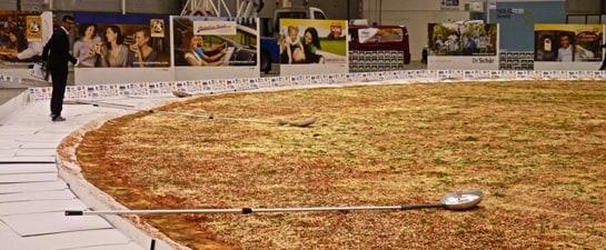 Ottavia, la pizza más grandes del mundo