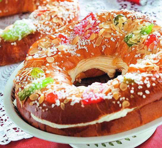 Los Roscones de Reyes de Hipercor se asemejan en calidad a los de pastelería