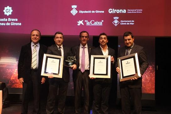 Los hermanos Roca, premiados por su labor al frente de El Celler de Can Roca