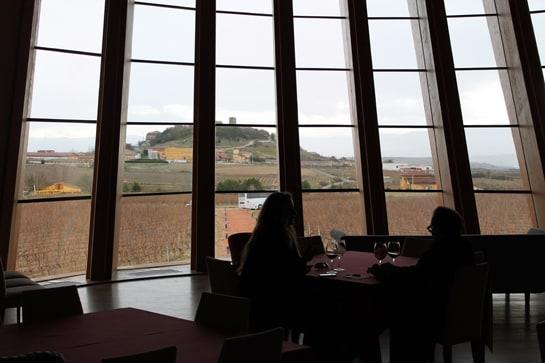 Vista de Laguardia desde Bodegas Ysios / Foto: Juan Carlos Morales