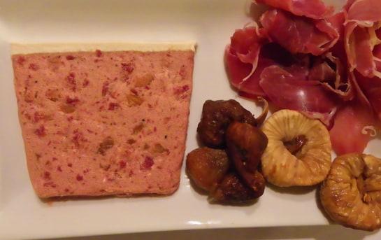 El paté de Salazones Serrano realza el sabor del jamón ibérico con notas dulces del higo