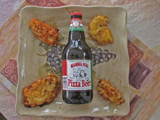 Pizza Beer puede utilizarse para añadir a la masa de la pizza o beberse directamente