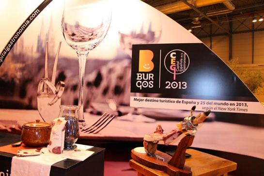 La Capitalidad Española de la Gastronomía de Burgos cuenta con un stand propio en FITUR