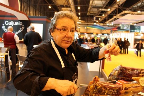 El jamón ibérico de Guijuelo garantiza el éxito entre los profesionales