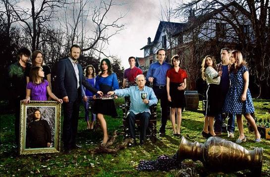 Reparto de la serie Gran Reserva, que se emite los lunes en La 1 de TVE