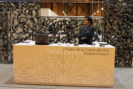 Museo de la Cultura del Vino Dinastía Vivanco, en el stand de Rioja