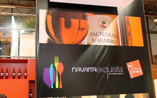 Navarra ofrece en FITUR sus vinos y pacharán / Foto: Juan Carlos Morales