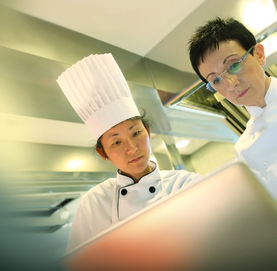 La prestigiosa chef catalana, en su restaurante Sant Pau