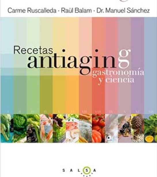 El libro de Carme Ruscalleda recoge recetas para evitar los efectos del paso del tiempo