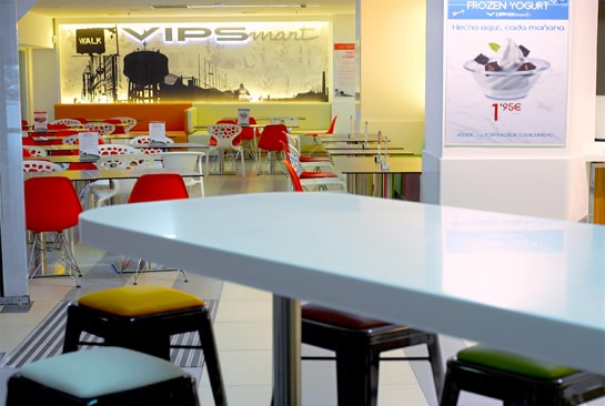 Interior del nuevo Vipsmart ubicado en el Centro Comercial Kinépolis