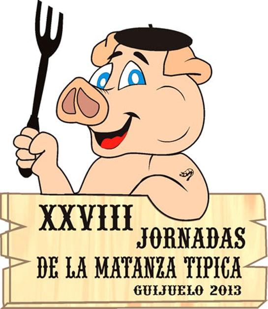 Cartel de las Jornadas de la Matanza de Guijuelo, que tiene lugar hasta el 23 de febrero