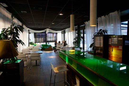 Interior del restaurante Ovum, en la localidad madrileña de Majadahonda