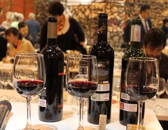 Cata de Rioja en la última edición de FITUR / Foto: Juan Carlos Morales