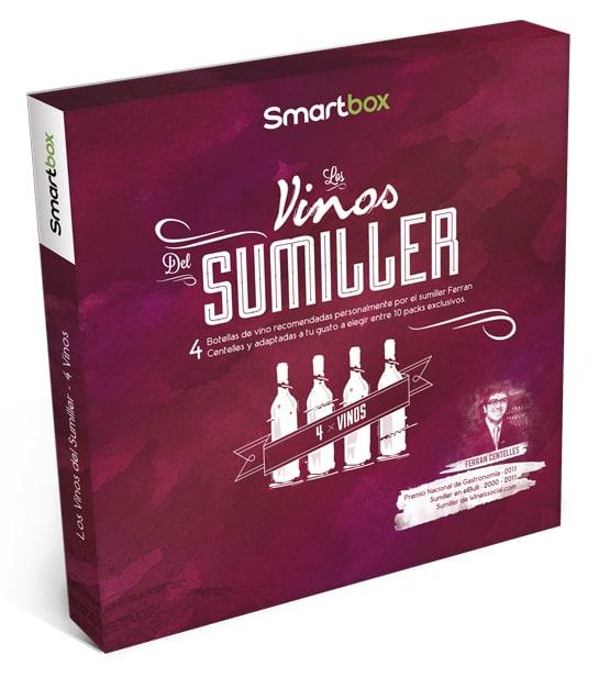 Smartbox combina por primera vez experiencia y producto en Los Vinos del Sumiller