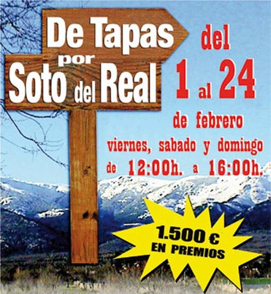 Tomarse el aperitivo en Soto del Real puede tener premio de hasta 300 euros
