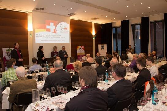 Cata de vinos de La Mancha en Alemania, segundo país importador tras Reino Unido