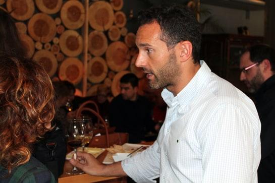 Bruno S. Carnero, propietario del restaurante Goa / Foto: Juan C. Morales