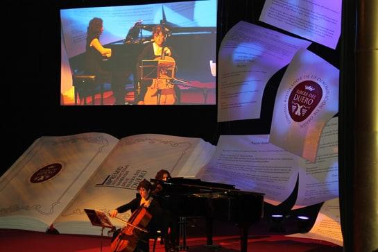 Momento de la gala celebrada en el Círculo de Bellas Artes