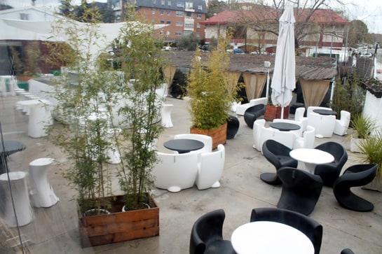 La terraza del restaurante Goa ha sido elegida como una de las mejores de Madrid / Foto: Juan Carlos Morales