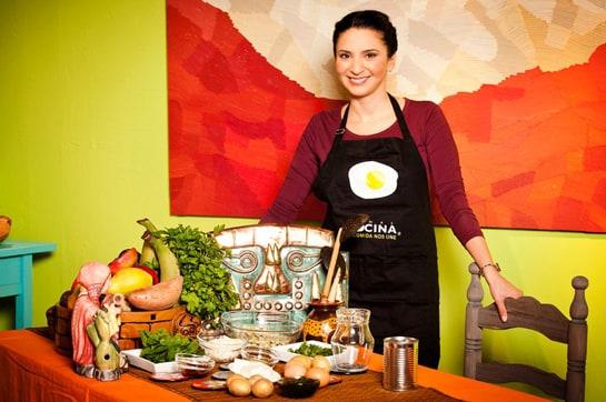 Anilú desvelará a partir del 1 de mayo los secretos de la cocina peruana en Canal Cocina