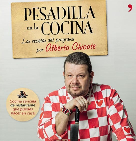 Chicote recopila en un libro las mejores recetas de 'Pesadilla en la cocina'