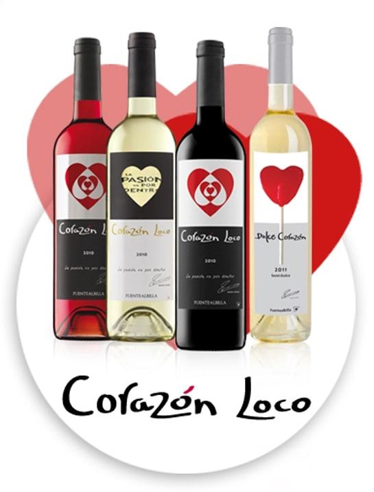 La marca Corazón Loco de Bodega Iniesta ha logrado varios premios en  el Bacchus 2013