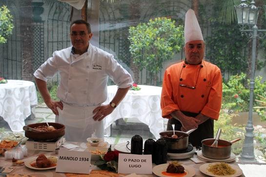 Manolo 1934 y O Pazo de Lugo presentan originales recetas de rabo de toro / JC Morales