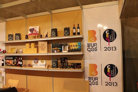 Los productos de Burgos, Capital Española de la Gastronomía, en el Salón