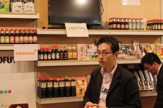 Stand de Tokyo-Ya con productos típicos japoneses - Juan Carlos Morales