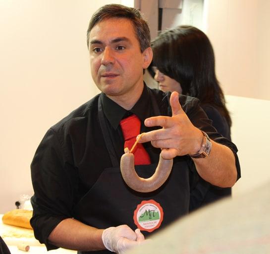 La morcilla ibérica artesanal, un descubrimiento en el Salón de Gourmets / JC Morales