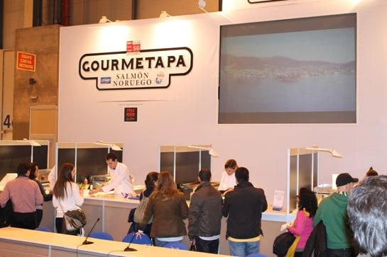 Gourmetapa se estrena en el Salón con éxito de asistentes / Juan C. Morales