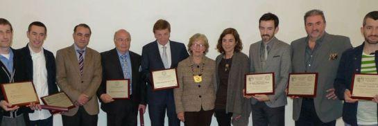 Los galardonados con los Premios Euskadi de Gastronomía/ Academia Vasca de Gastronomía
