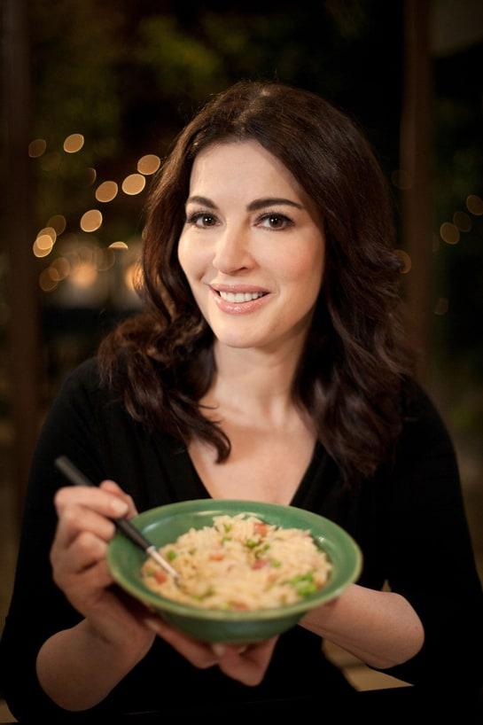 La chef británica Nigella Lawson es una especialista en cocina italiana