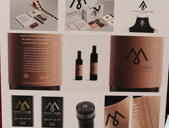 Diseño de la nueva imagen corporativa de la D.O.P. Aceite Montes de Toledo / JC Morales