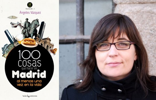 La autora junto a su libro, el primero de muchos más, según el ministro Ruiz-Gallardón. /Ag