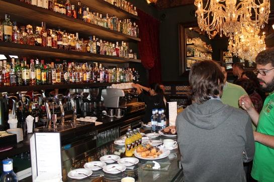 Bar Viva Madrid, donde se ha presentado la campaña 'Benditos bares' / JC Morales