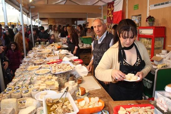 Los quesos extremeños han vuelto a triunfar en la Feria Nacional del Queso