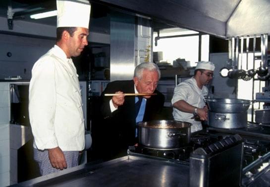 José Luis, en la cocina de uno de sus restaurantes. /Ag