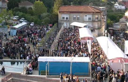 Imagen de Ribadavia en plena Feria del Vino de Ribeiro. /Ag