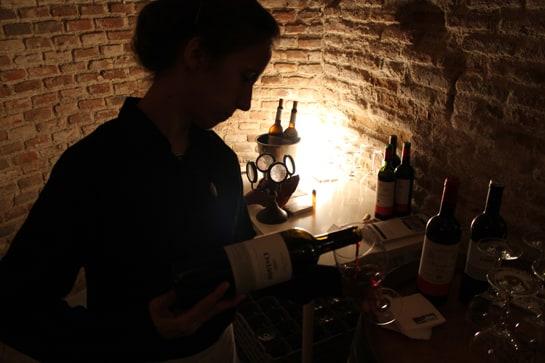 La Antigua Bodega San Blas de Madrid recuerda los calados de Rioja Alavesa / JC Morales