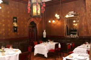 Salón Japonés de Lhardy, por donde pasaron famosos cortesanos y aristócratas
