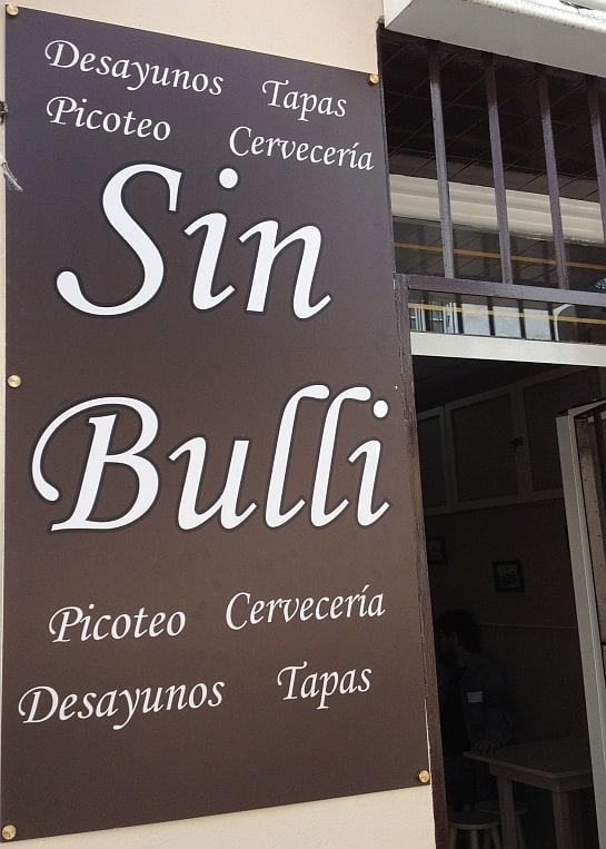 El Sin Bulli, en el centro de Jerez