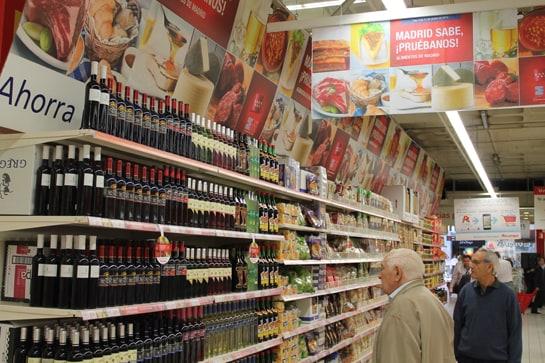 Los productos de 'Madrid Sabe' se encuentra en un área delimitada de los Alcampo / JC Morales