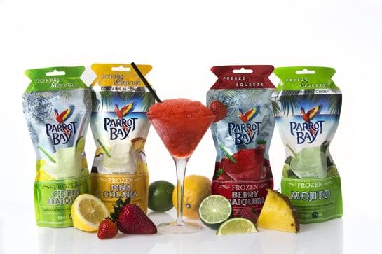 Parrot Bay ofrece a los consumidores españoles cuatro variedades de cócteles para tomar en casa