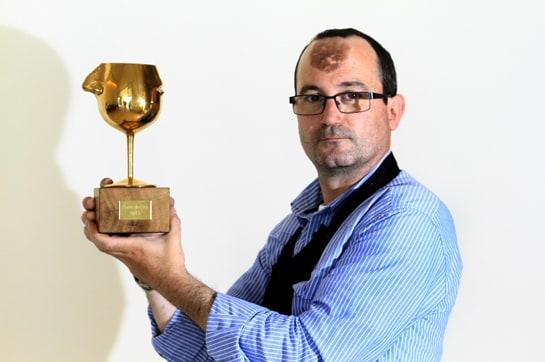 Joffre Tarrida, ganador de La Nariz de Oro 2013