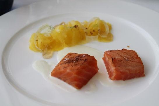 El clásico ron Añejo marida a la perfección con el salmón / JC Morales