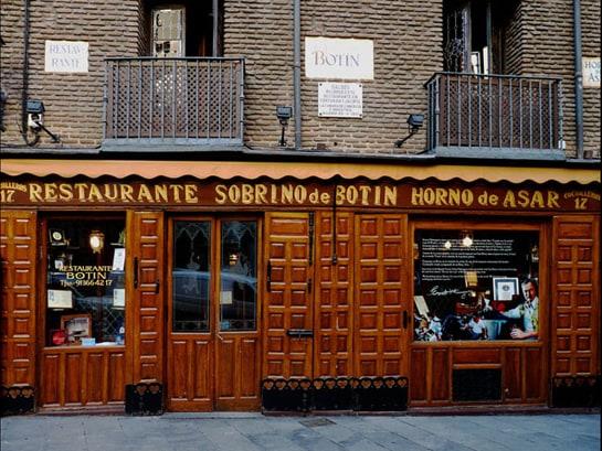 Junto a la Plaza Mayor, Botín está considerado el restaurante más antiguo del mundo