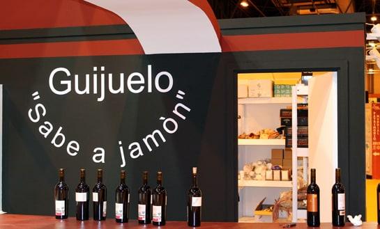 Stand de jamones Guijuelo en la última edición de FITUR / JC Morales