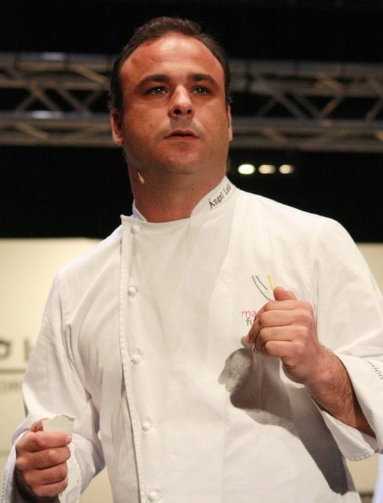 El chef Ángel León, en Madrid Fusión 2012 / Foto: A. González