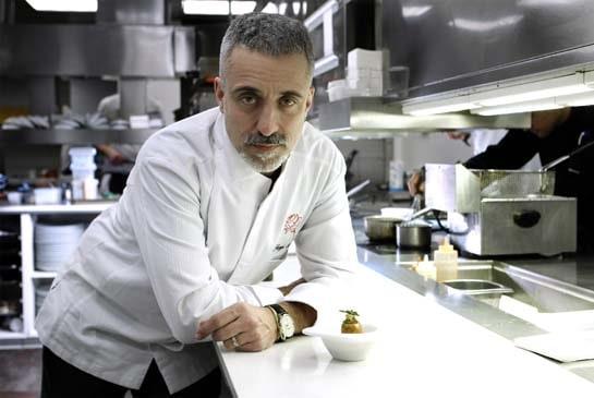 El chef Sergi Arola